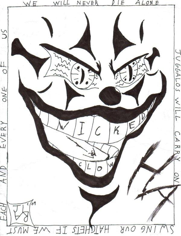 insane clown posse coloring pages - photo#15