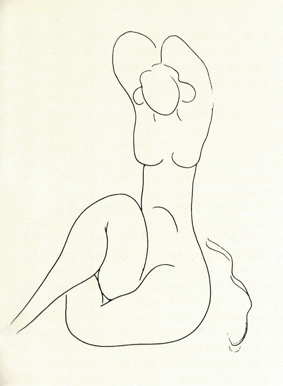 565x772 Henri Matisse Sketch Of A Woman. The Insane, Unexpected