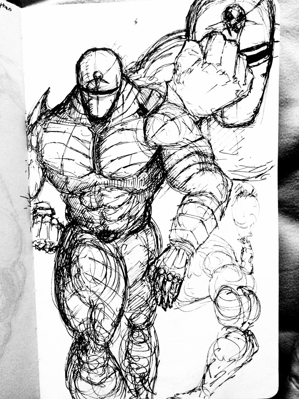 1024x1365 Insane Knight Sketches By Rabdo