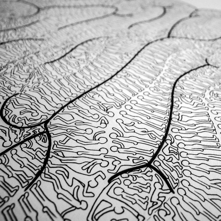 765x765 Insane In The Brain A Drawing From Fabrice Wittner