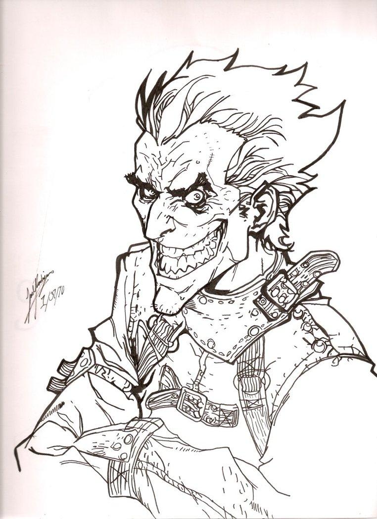 762x1048 The Insane Joker By Marvelofazombie