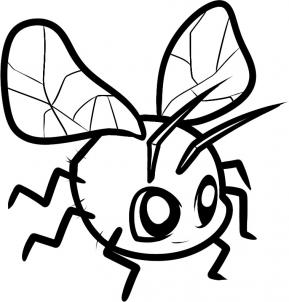 289x302 How To Draw How To Draw A Fly For Kids