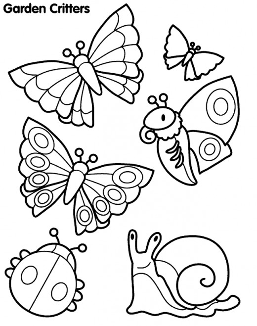 520x659 Insects Coloring Pages Top 82 Insect Coloring Pages Free Coloring