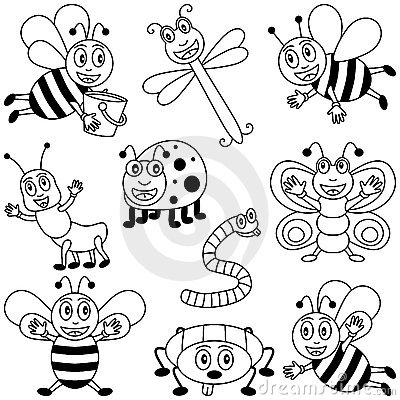400x400 Coloring Insects For Kids Been Insects, Butterfly