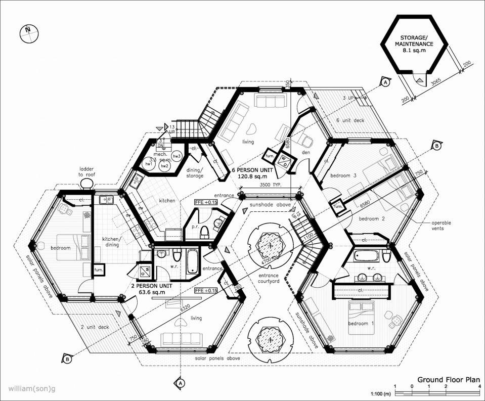 959x793 Uncategorized Earthbag House Plans Inside Lovely Earthbag Floor