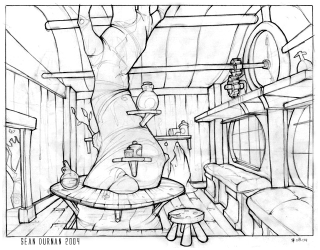 640x500 Treehouse Drawings Demoreel Shotlist And Details Pdf Word