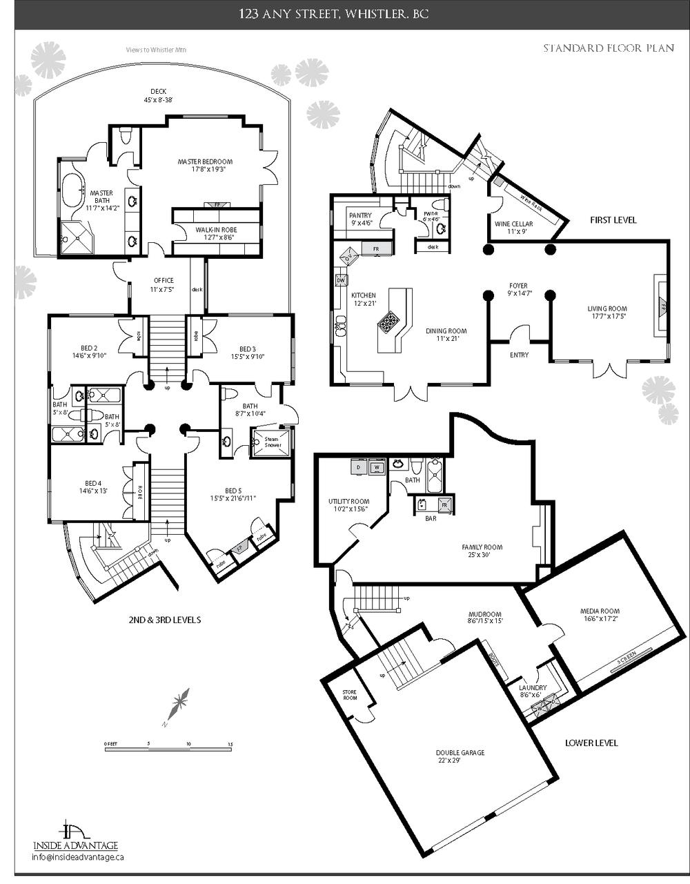 1000x1281 Inside Advantage, Whistler Floor Plans