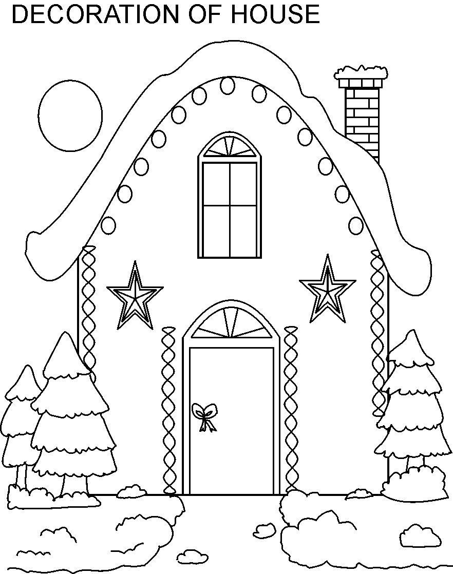 882x1118 Inside House Coloring Pages