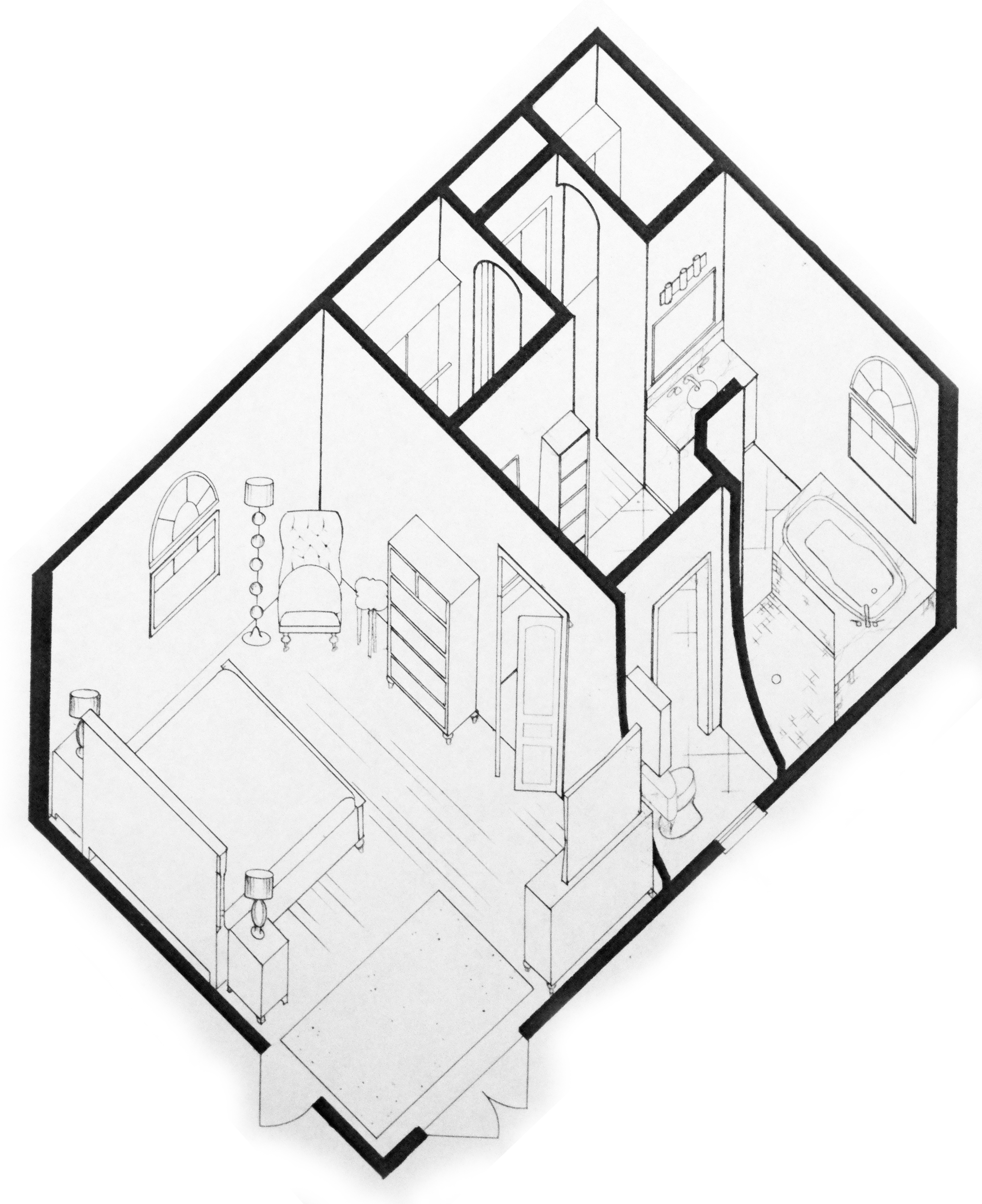 Inside Of House Drawing at GetDrawings