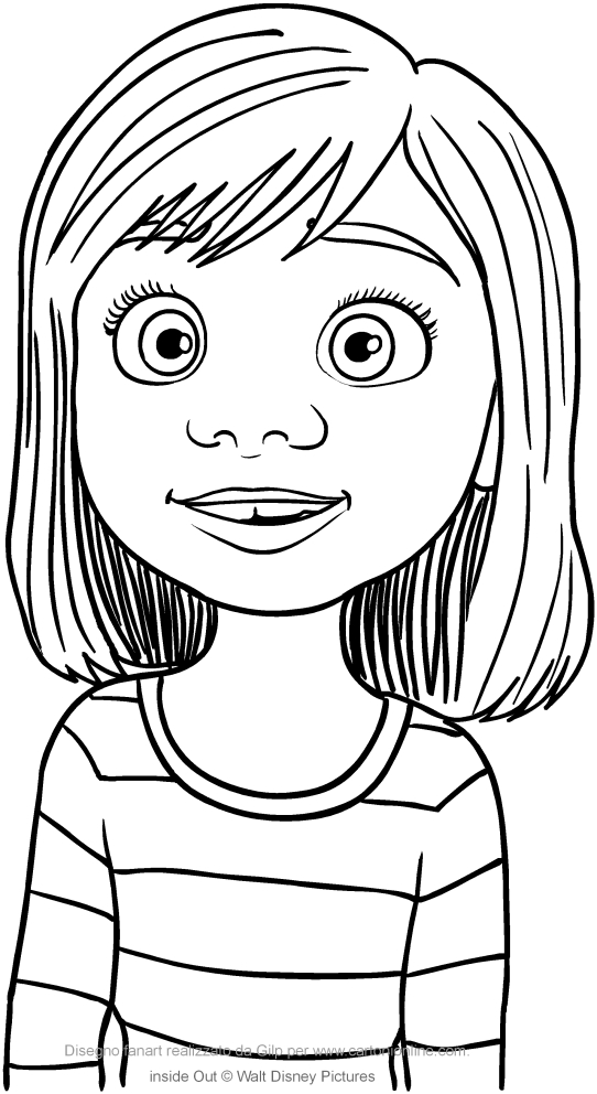542x992 Riley Andersen Inside Out Coloring Pages