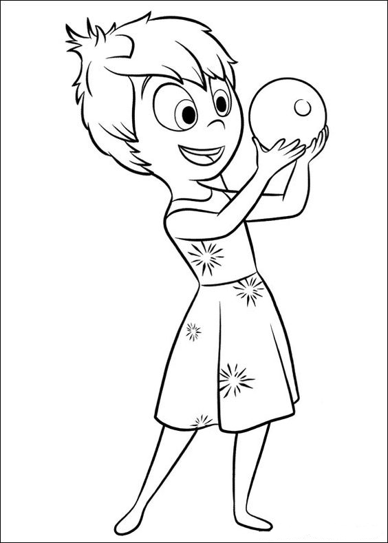 564x789 Doll Inside Out Joy Coloring Pages Anger Inside Out Coloring Pages