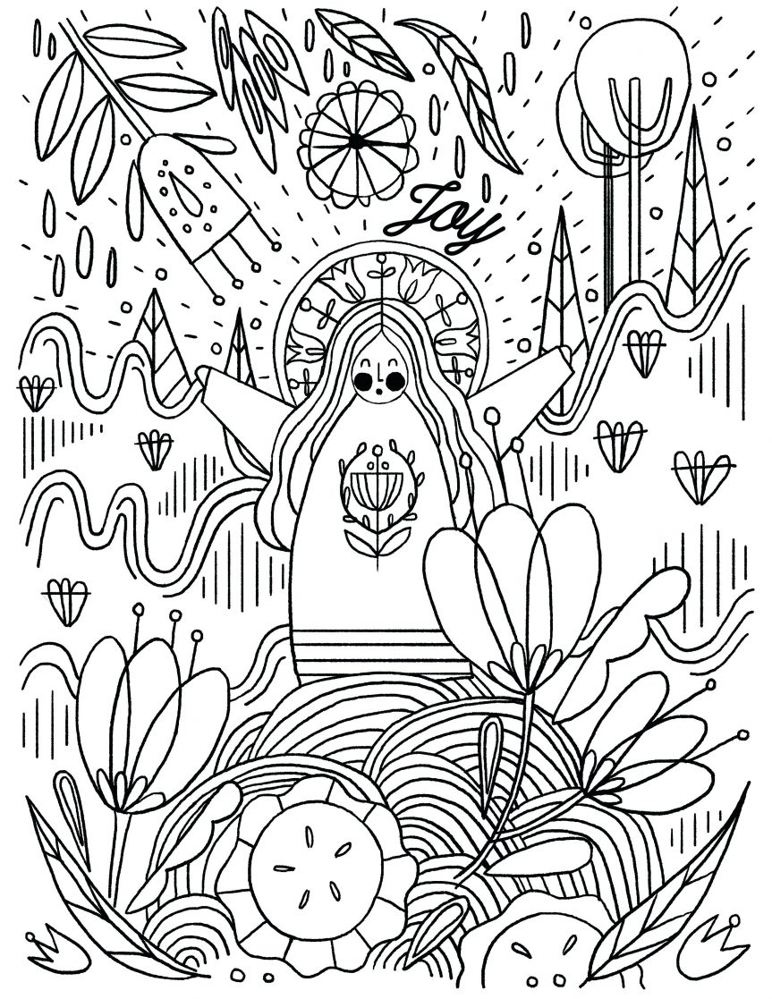 863x1117 Inside Out Coloring Pages Joy Christmas And Sadness