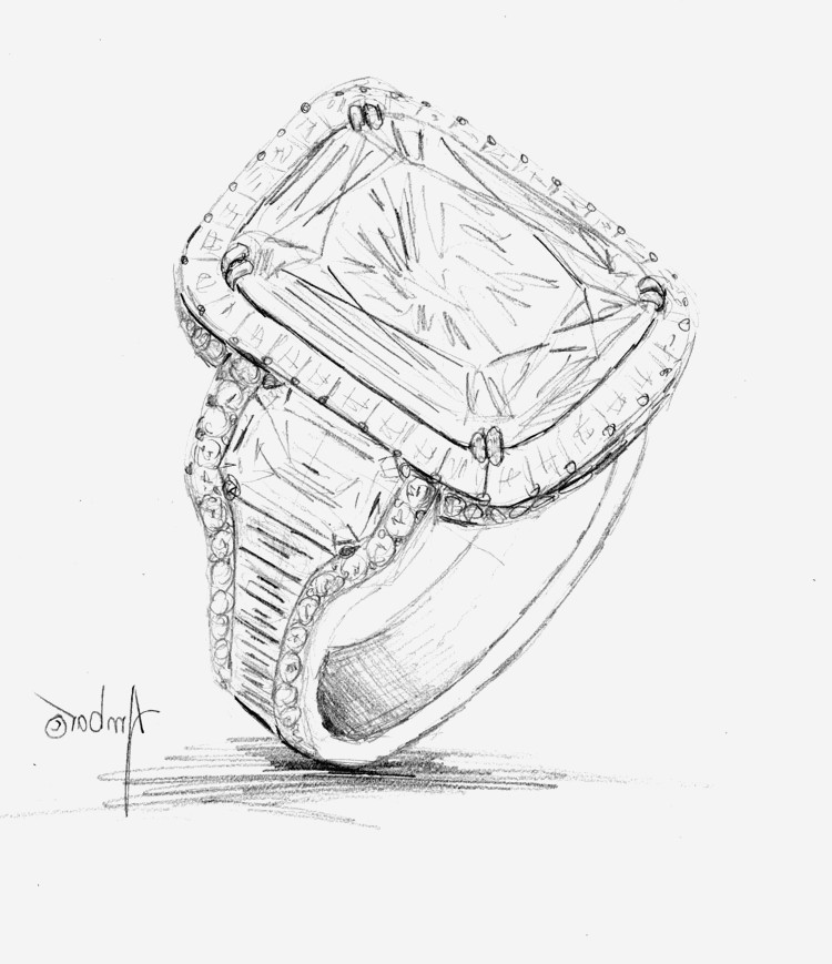 750x869 Diamond Ring Drawing Inspirational Hand Drawings Archives