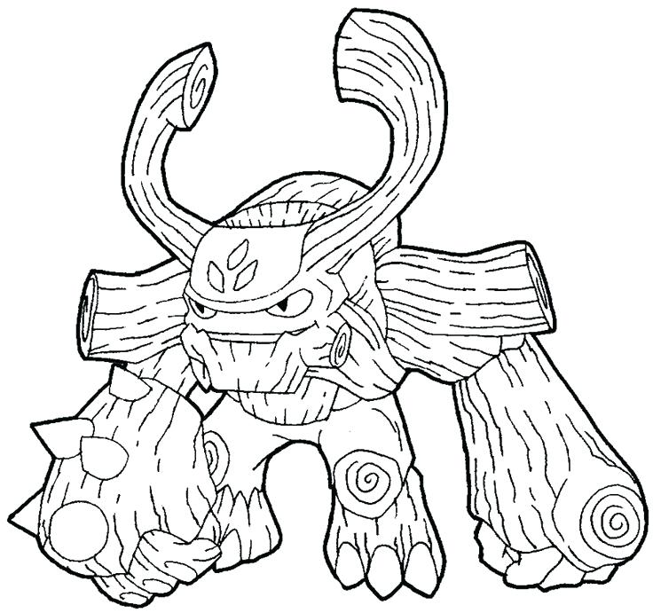736x691 Inspirational Skylander Coloring Pages Free Fee Best Colouring
