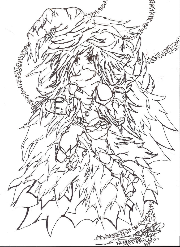 762x1048 A Inspirational Drawing For Vargue. Mage Of Nature By Roleys