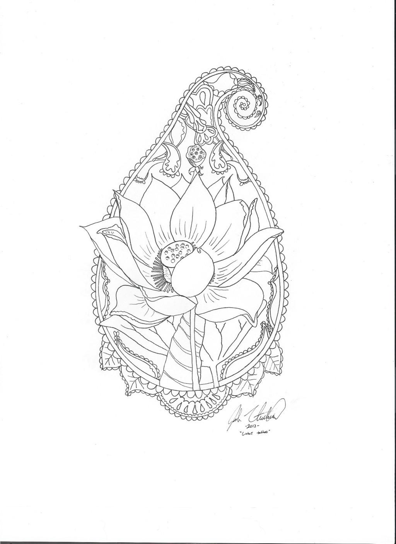 1024x1408 Mandala Flower Tattoos Tumblr 18075