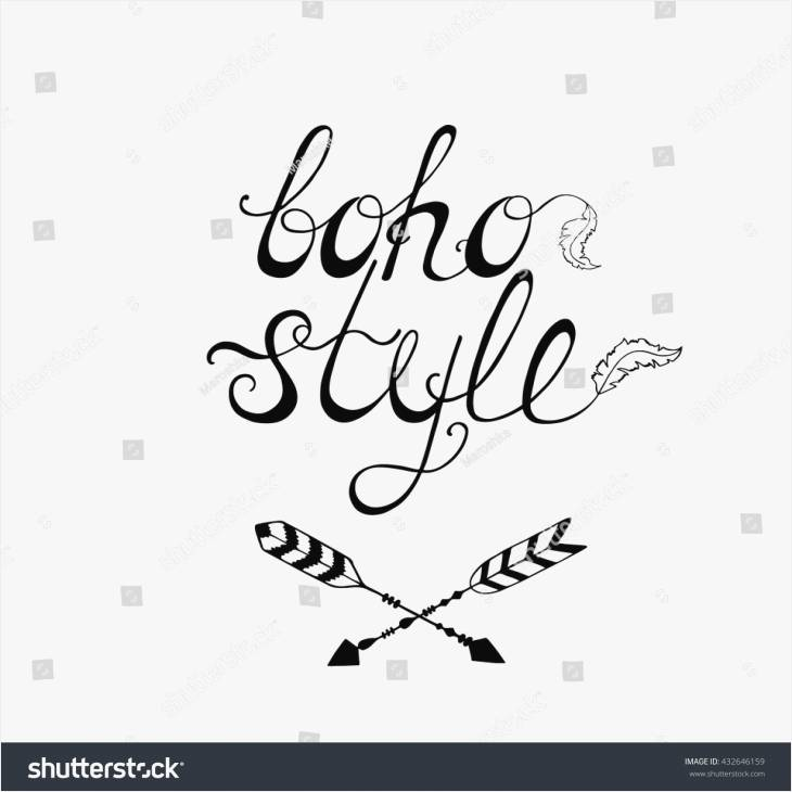 730x730 Quotes About Drawing Awesome Boho Style Inspirational Quote Modern
