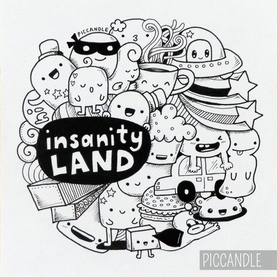 900x900 Instagram Doodle By Piccandle