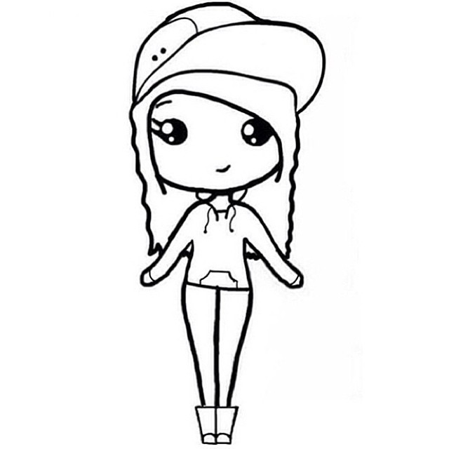 640x640 26 Images Of Chibi Template Instagram She's Mine