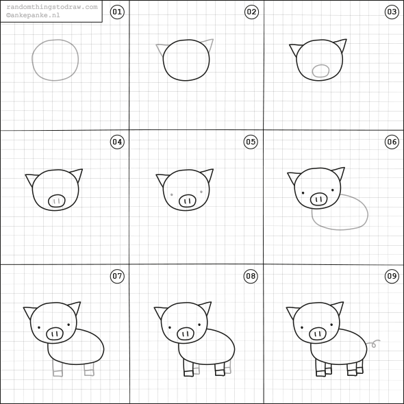 590x590 Learn How To Draw Fun Things With Easy Instructions, Also Great