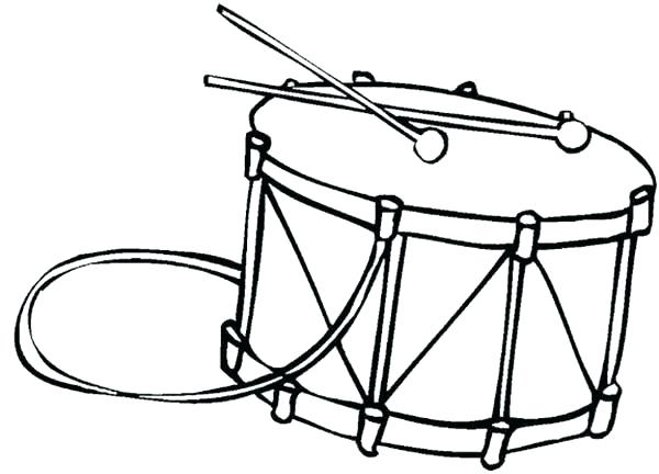 600x432 Instrument Coloring Pages