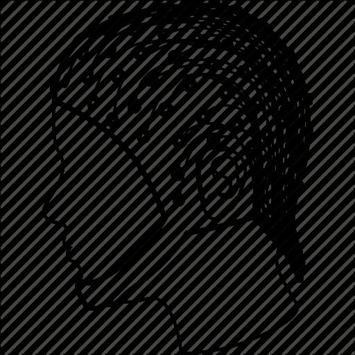 512x512 Brain Interface, Futuristic Idea, Human Head, Intelligence, Mind