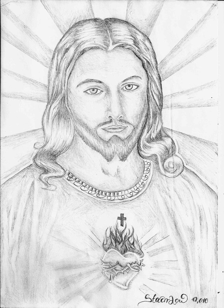 762x1048 Interesting Jesus Drawing Pictures By Stach Low