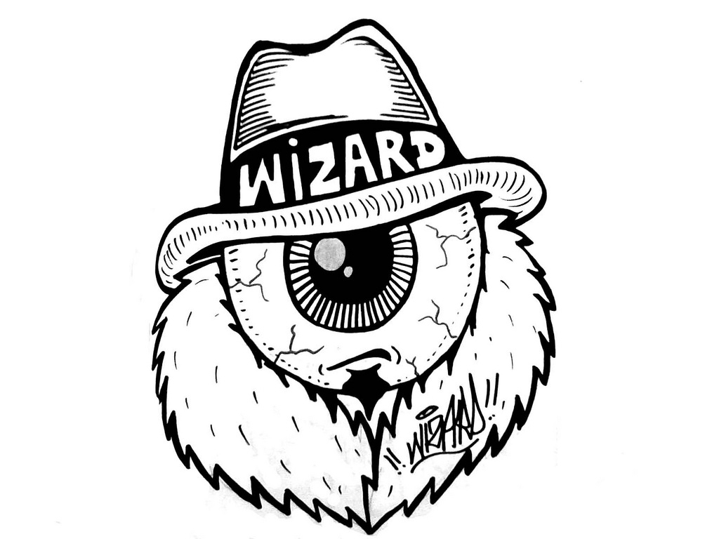 1024x768 Street Gangster Drawings Wizards Stickers's Most Interesting