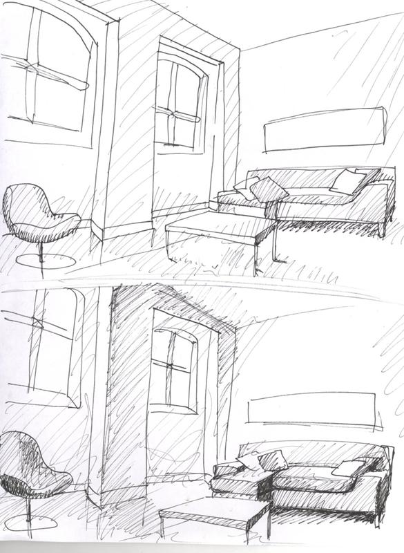 585x800 Interior Design 197 Sketchbook