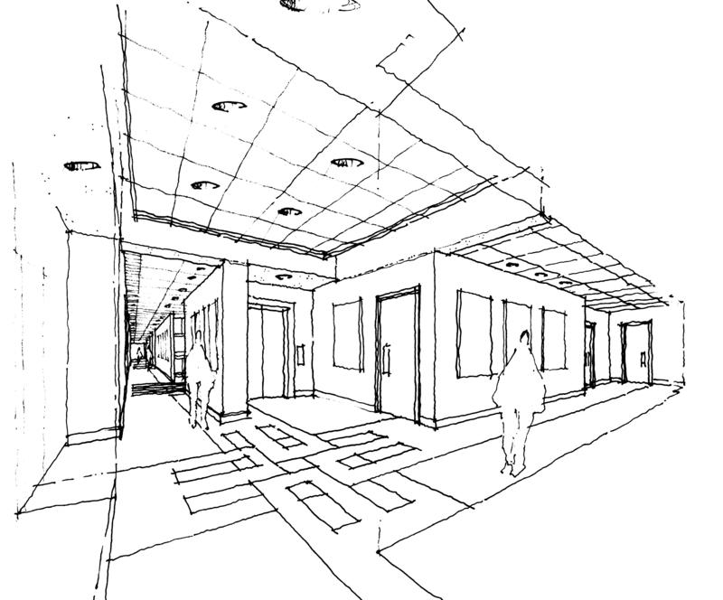 Interior Perspective Drawing At Free For Personal Use Interior Perspective