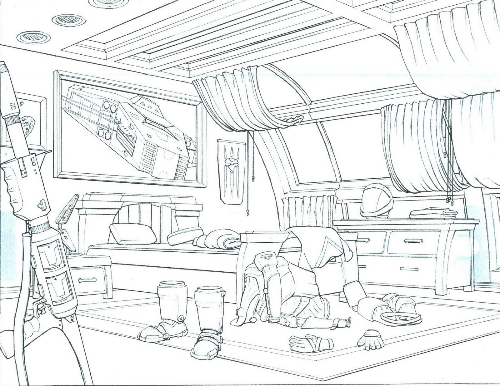 1600x1236 Two Point Perspective Drawing Tutorial Pdf Kitchen Pencil Sketch