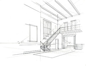 291x225 Basic Perspective Drawing A Visual Approach