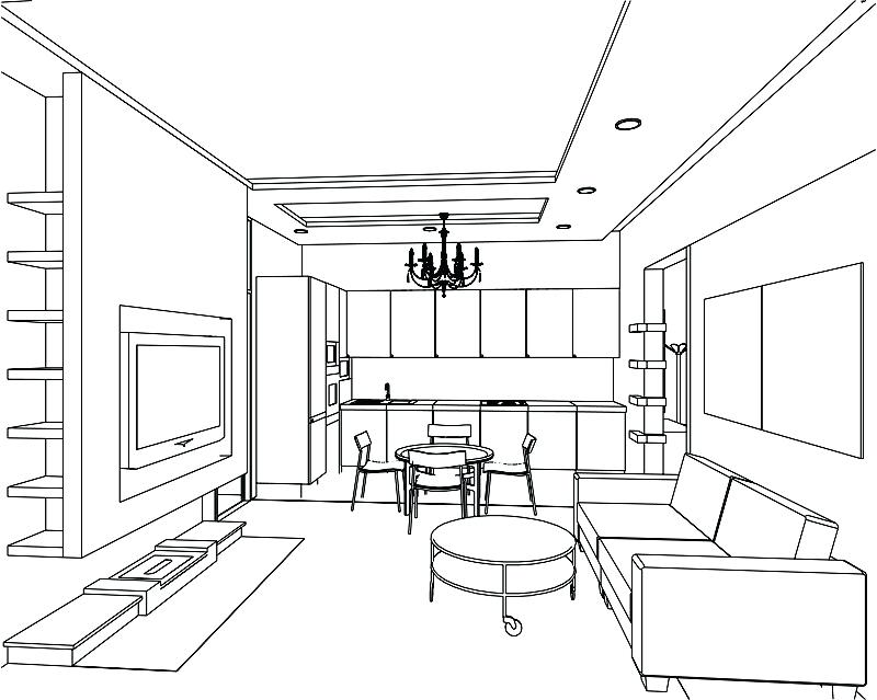 800x639 Interior Design Drawing Stunning House Design Drawing Drawing