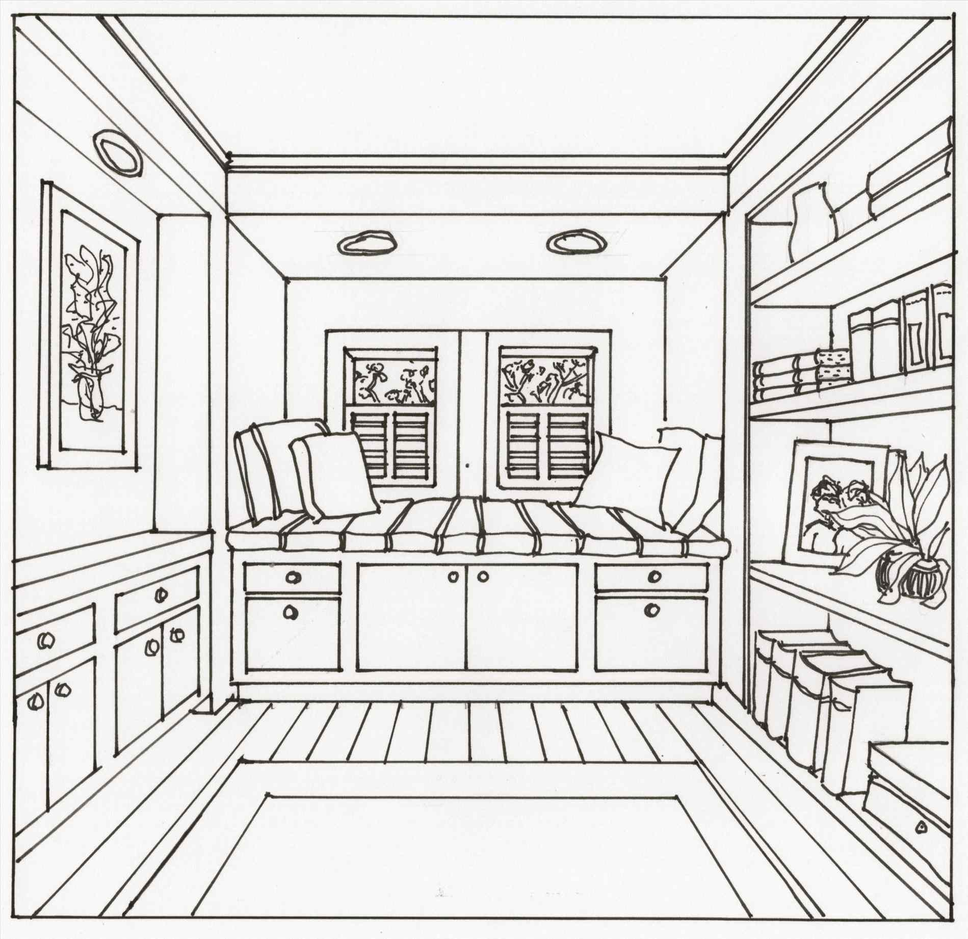 1899x1842 Interior Design Drawing