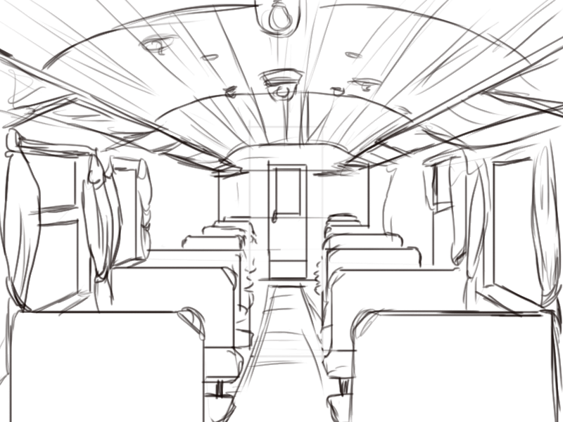 800x600 Train Interiors Blurred Colors