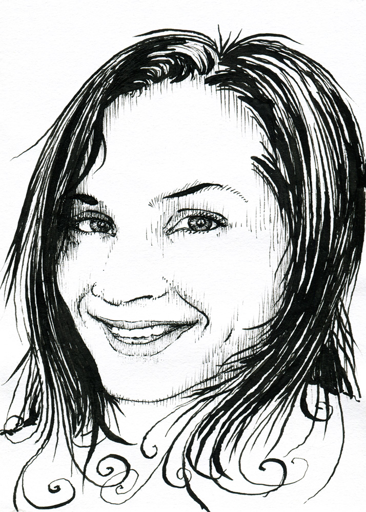 714x1000 Portrait Kay Verelst Subject The Beautiful Face Of Kay Verelst