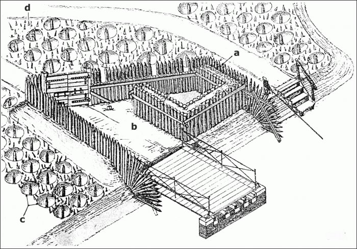 700x487 Tambour, Defensible Courtyard International Fortress Council