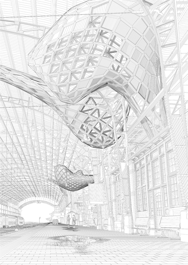 600x848 Arch20 Twelve Digital Etchings For The International Architecture