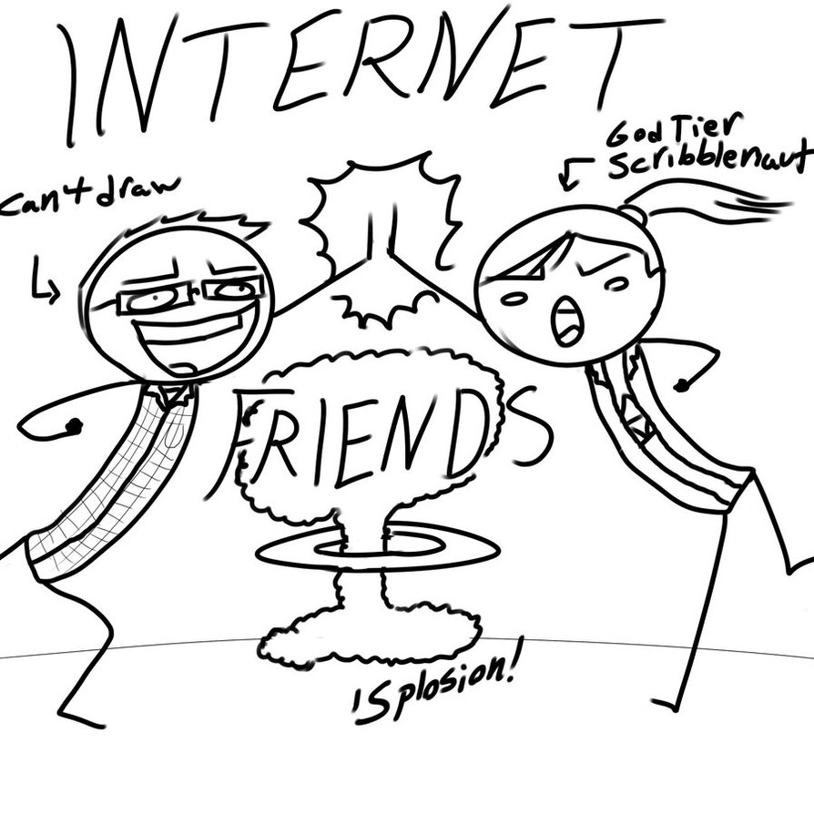 894x894 Internet Friends By Isra Of The Valley