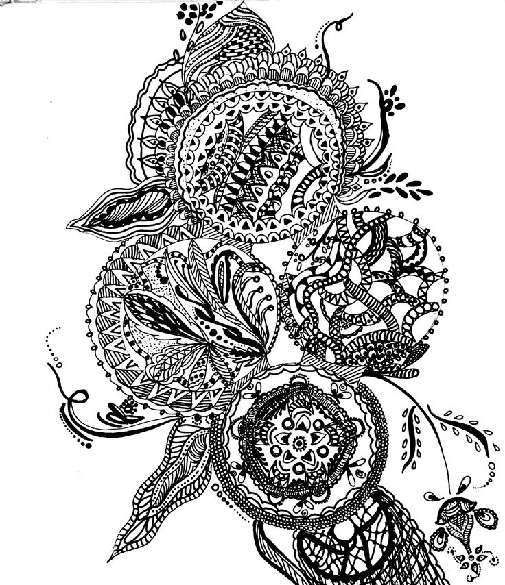 736x854 53 Best Intricate Drawings,mandalas And More Images