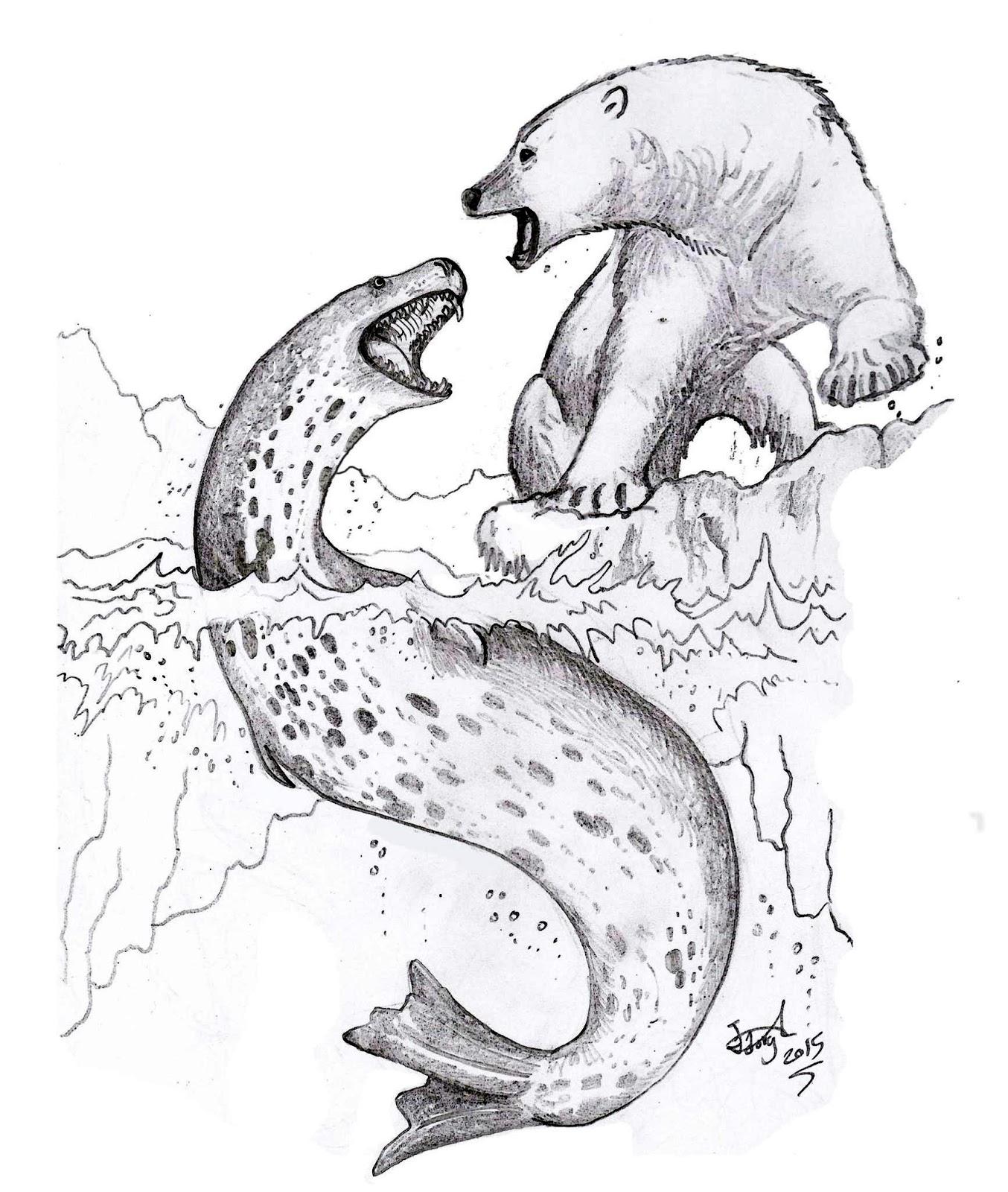 1354x1600 In Inuit Mythology, The Tizheruk Is A Mythical Large Snake Like
