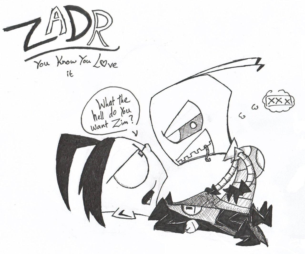 1280x1066 Random Zadr By Invader Zim Fever