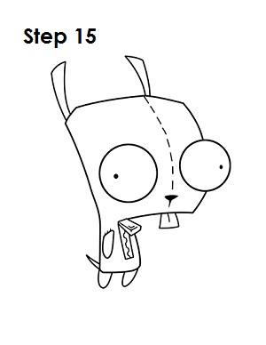 300x388 How To Draw Gir