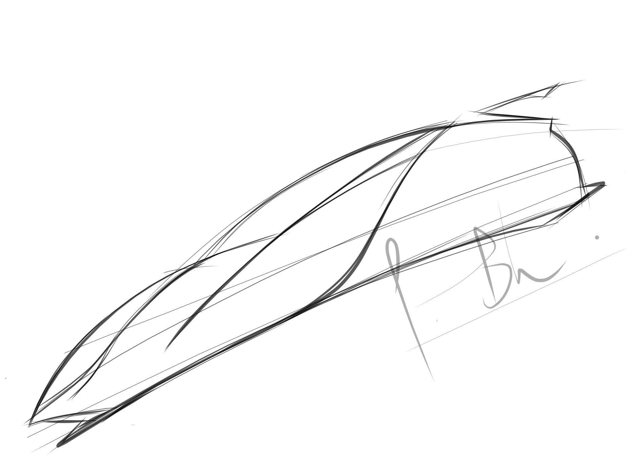 2048x1536 How To Draw A Mercedes Benz Concept Car.(Ipad) Part 1