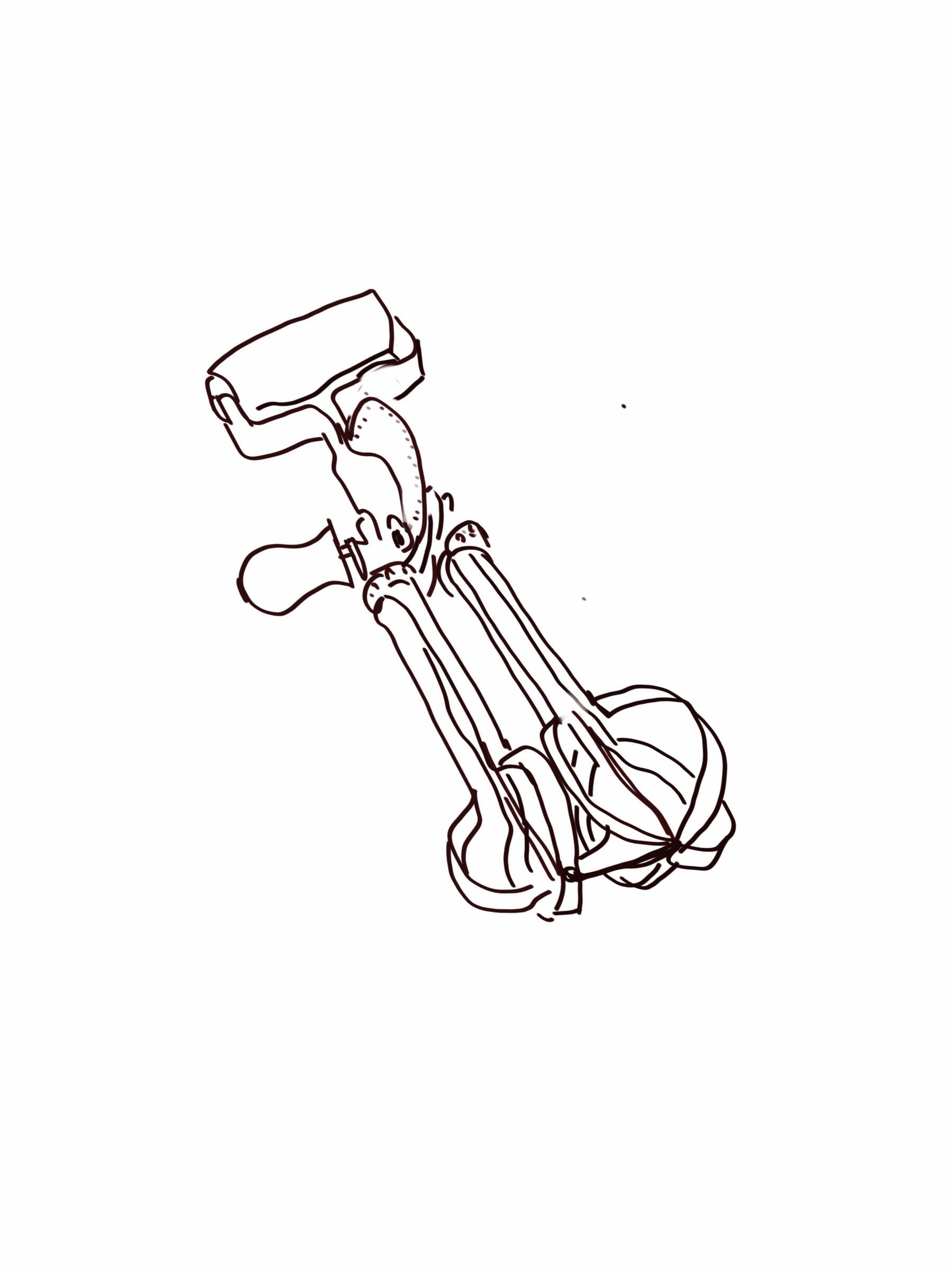 1800x2400 Ipad Sketch Eggbeater01 Illustration Ipad