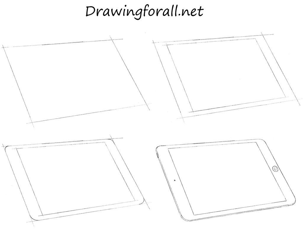 1024x778 How To Draw An Ipad By Stevelegrand