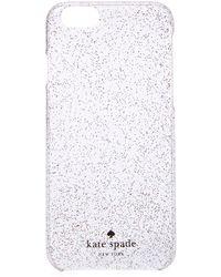 200x250 Kate Spade Glitter Iphone 6 Case In White Lyst