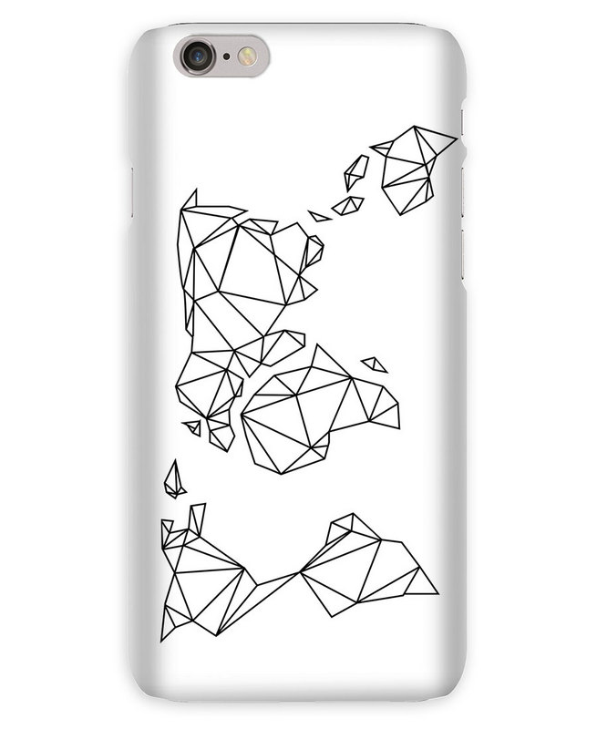 655x800 Geometrische Erde En Coque Iphone 6s Par Eulenschnitt Juniqe