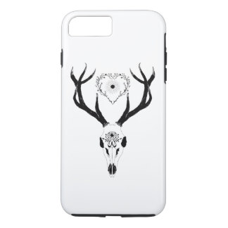 324x324 Skull Sketch Iphone 8 Plus7 Plus Cases Amp Covers Zazzle