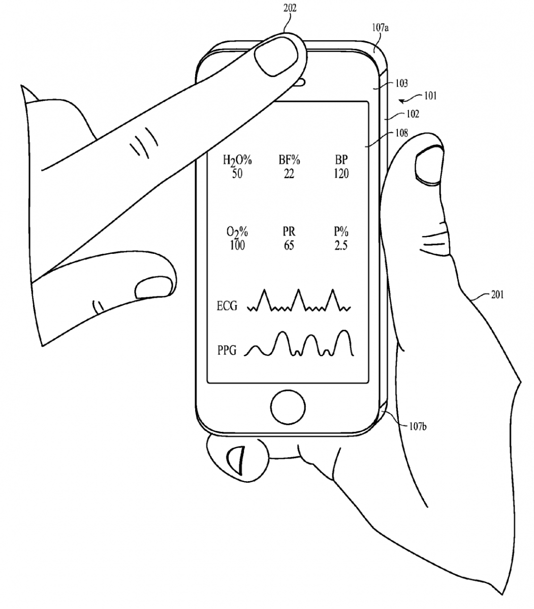 1051x1200 Newly Grantedpple Patent Shows Ways To Turnn Iphone Into